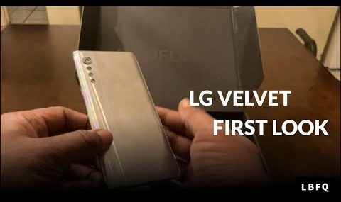 LG Velvet First Look: Unboxing, Design, Dual Screen Case and more